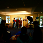 Filming at Wiltshire Colege as part of the First Light scheme